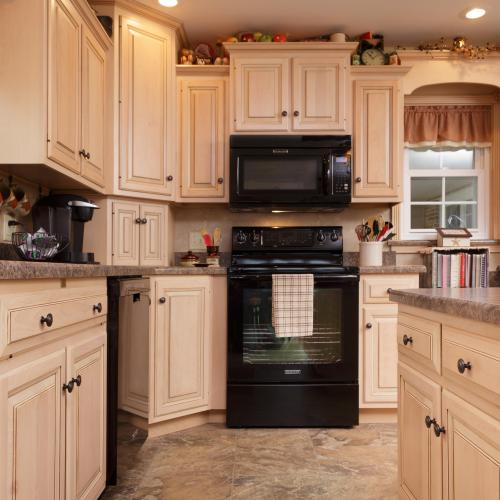 Beautiful solid wood kitchen cabinets in Liverpool, Pennsylvania