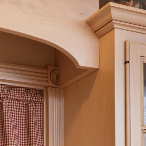 Example of window arch design made from quality hardwood in Harrisburg, Pennsylvania